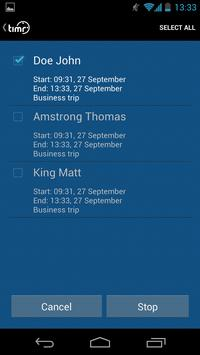 timr Team Tracking apk screenshot