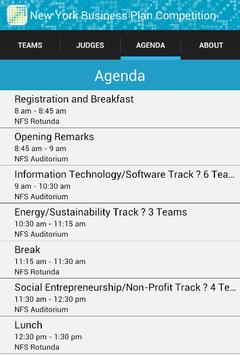 NY Business Plan Competition apk screenshot