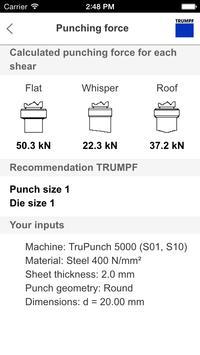 TRUMPF PunchGuide apk screenshot