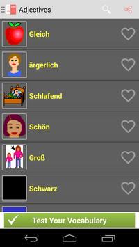 German Vocabulary apk screenshot