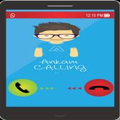 trace caller - name Announcer icon