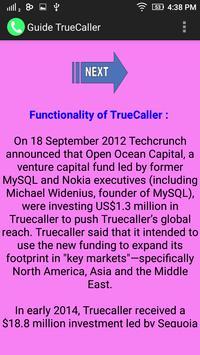 Guide Truecaller apk screenshot