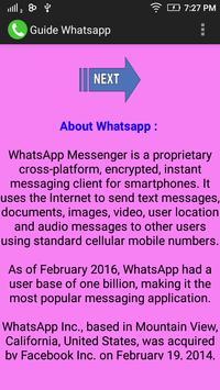 Guide Whatsapp poster