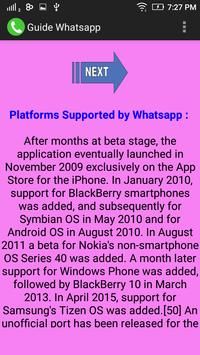 Guide Whatsapp apk screenshot