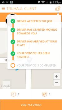 TruHaul Customer apk screenshot