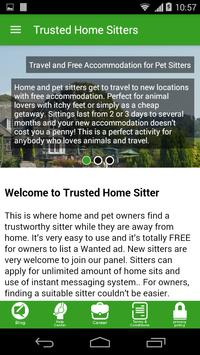 Trusted Home Sitter poster