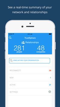 TrustSphere mobile poster