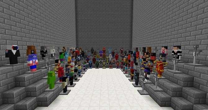 Super Hero Mod For Minecraft apk screenshot