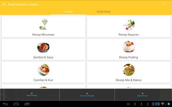 Resep Masakan Lengkap apk screenshot