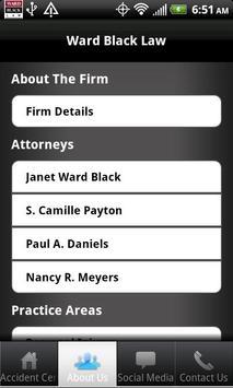 North Carolina Injury Lawyers apk screenshot