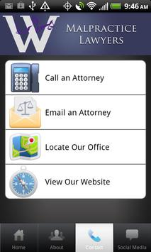 Malpractice Lawyers apk screenshot