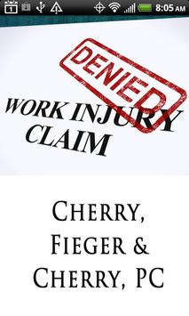 Workers Comp Attorney poster