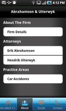Tampa Injury Lawyer apk screenshot