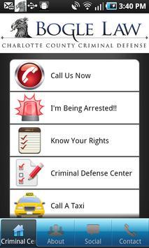 Florida Criminal Defense Law poster