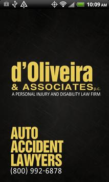 d'Oliveira Auto Accident Law poster