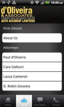d'Oliveira Auto Accident Law apk screenshot