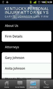 Kentucky PI Attorneys apk screenshot