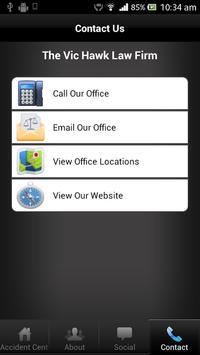 Vic Hawk Law Group apk screenshot