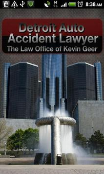 Get Geer  Detroit Accident Law poster
