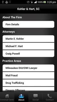 Wisconsin Criminal Defense Law apk screenshot