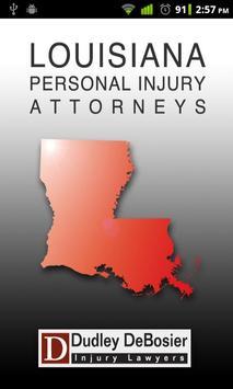 Louisiana PI Attorneys poster