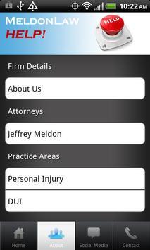 Meldon Law - Help! apk screenshot