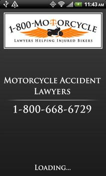 Motorcycle Accident Lawyer poster