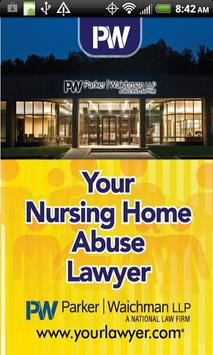 Your Nursing Home Abuse Lawyer poster