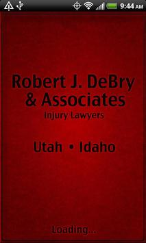 Robert J. DeBry-Injury Lawyers poster