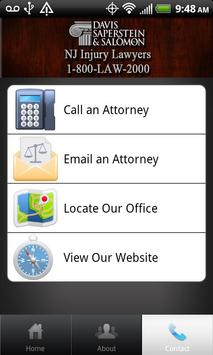 NJ Injury Lawyers apk screenshot