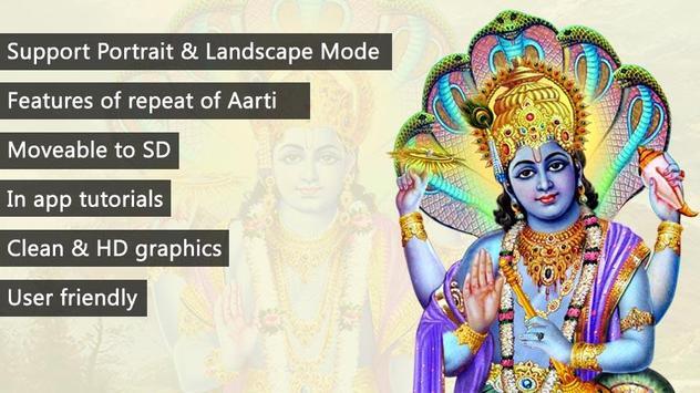 Vishnu Aarti poster
