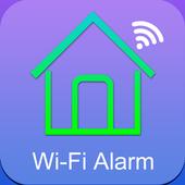 WiFi GSM alarm system icon