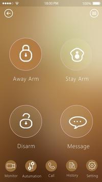 WiFi GSM alarm system apk screenshot