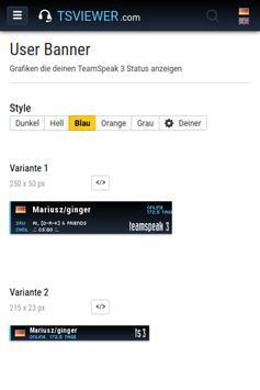 TS3 Viewer - TSViewer.com apk screenshot