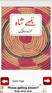 Bulleh Shah Kehnde Nain poetry apk screenshot
