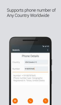Mobinfo: Reverse Phone Lookup poster