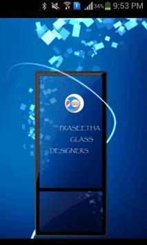 Praseetha Glass Designers poster