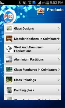 Praseetha Glass Designers apk screenshot