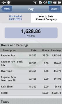 ePaystub apk screenshot
