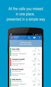 ReCall - Missed Call Tracker poster