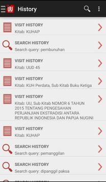 UU Indonesia apk screenshot