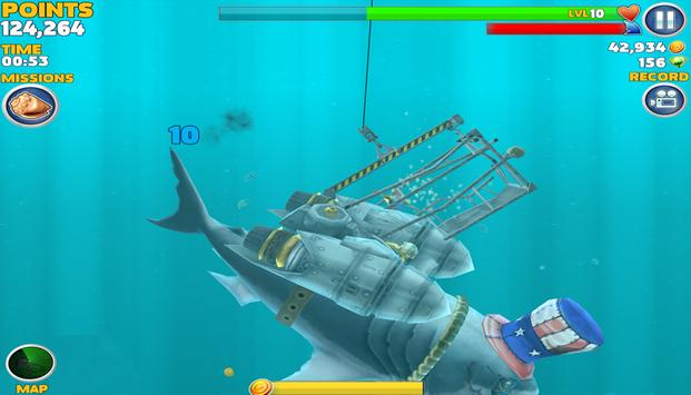 Tips Hungry Shark Evolution apk screenshot