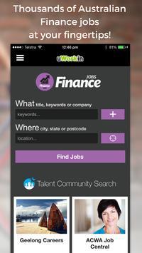 Finance Jobs poster