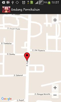 Pencarian Gedung Pernikahan apk screenshot