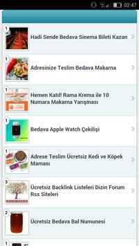Ücretsiz Numune apk screenshot