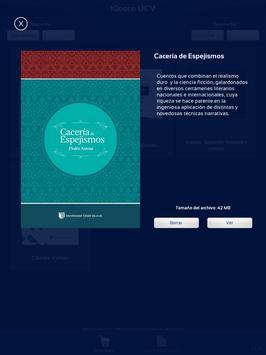 Kiosco UCV apk screenshot