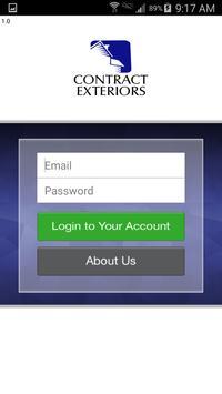 Contract Exteriors apk screenshot