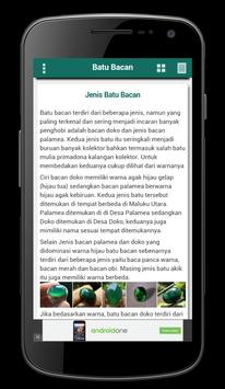 Batu Bacan apk screenshot