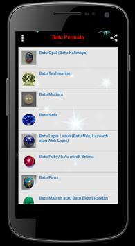 Data Batu Permata apk screenshot