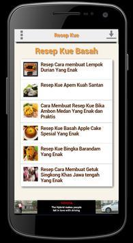 Resep Kue dan Minuman poster